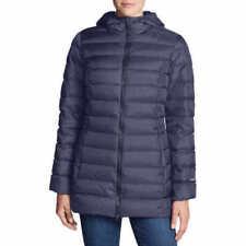 Eddie Bauer Womens Cirruslite Down Parka Packable Jacket Lightweight Blue XL