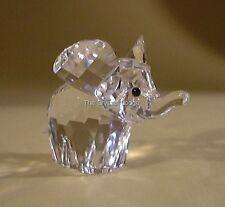 Cristal Swarovski éléphant Petit/Mini 151489 Comme neuf boxed RETRAITÉ RARE