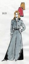 Classic Western Ladies Divided Riding Skirt sewing pattern, yokes, rodeo queen