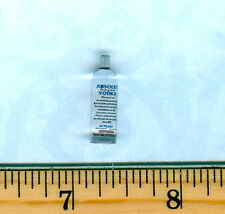 Dollhouse Miniature Size Clear VODKA  Bottle # A