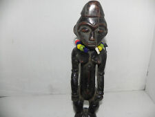 "Arts of Africa - Maternity Mangbetu Figure - DRC - Congo - 12"" Height x 3"" Wide"