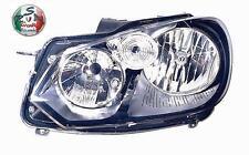 FARO PROIETTORE ANTERIORE DX VW GOLF 6 VI DAL 09>- MOD.HELLA PARABOLA NERA 26050