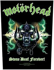 Motorhead Stone Deaf Forever giant backpatch sew-on cloth patch     (ro)