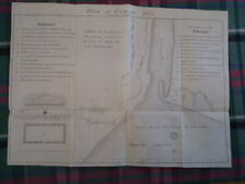 1727 OSWEGO Ontario Canada New York Map