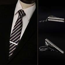 Herrenschmuck Schlicht Krawattennadel aus Silber Metall Favorit Krawattenspange