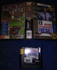 John Madden Football Championship Edition (Sega Genesis, 1992) NO MANUAL
