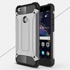 Shockproof Armor Hybrid Hard Back Case Skin Cover For Huawei P8 P9 2017/P10 Lite