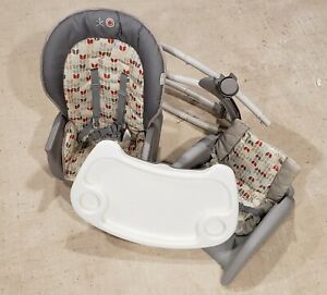 Ingenuity SmartClean Trio Elite 3-in-1 High Chair Grey High Chair Toddler Baby