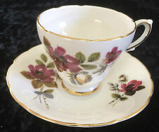 Vintage DELPHINE CUP & SAUCER - BONE CHINA - MADE IN ENGLAND