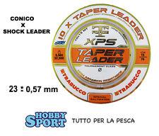 FILO CONICO SURFCASTING XPS TAPERED 0,23 - 0,57 COLORE NEUTRO- TRABUCCO