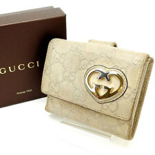 Auth GUCCI W Hook Wallet GUCCI Shima Women''s used J6125
