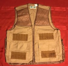 VINTAGE GAME WINNER SPORTSWEAR Sz M 38/40 HUNTING VEST DUCK DEER SHOTGUN (#184)