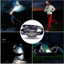 LED Bright Flashlight headlight Headlamps For Camping, Running, Hunting Reading