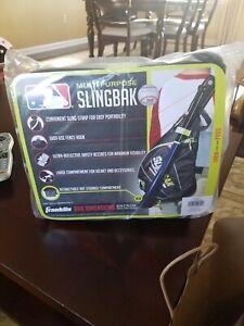 New Franklin Sports MLB Multi-Purpose Slingbak Baseball Softball Equipment Bag