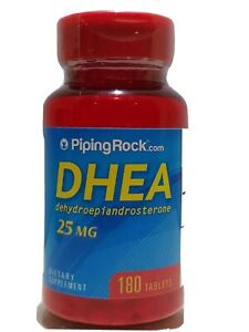 Piping Rock # DHE A  25 mg # 180 Tablets - Ebay best Prices