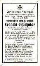 STERBEBILD  AVIS  DE  DECES  SOLDAT  ALLEMAND  NORMANDIE  1944  ( 82 )