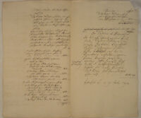 Crailsheim Inventar Vermögen Orig. HANDSCHRIFT 1792 Johann Michael Engelhardt