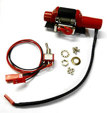 YA-0388 1/10 RC Rock Crawler Body Shell Steel Wired Winch Toe Red Fixed Switch