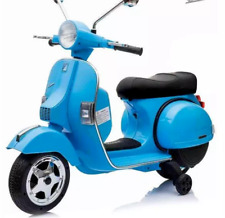 VESPA Bambini Elettrico Scooter Blu 12v Peg Perego PIAGGIO PX 200 80 50 SS 90 RALLY