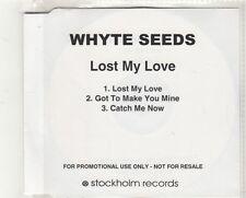 (GV287) Whyte Seeds, Lost My Love - DJ CD