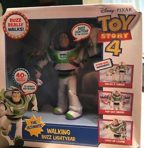 Mattel Disney Pixar Toy Story 4 The Ultimate Walking Buzz Lightyear.Box wear