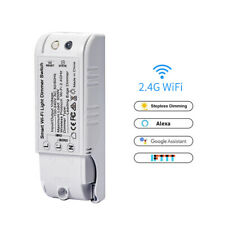 HOT!!! NEW Smart LED Light Dimmer WiFi Wall Touch Switch For Alexa Google Home!!