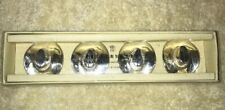 Pottery Barn Cowboy Hat Place Card Holder Silver Set Of 4 WB
