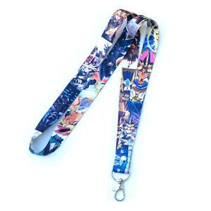 Yu Gi Oh Yugi Muto Strap Neck Lanyard Badge ID Holder Phone Keychain 45cm