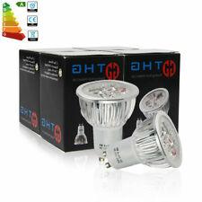 10x GU10 6W=50W LED Bulbs Spotlight Downlight Warm White Lamp Energy Saving A+