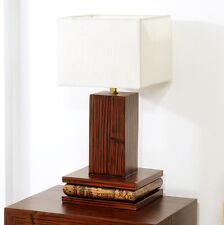 TISCHLAMPE ECO TISCHLEUCHTE NACHTTISCHLAMPE LEUCHTE LAMPE HOLZ LESE LAMPE DESIGN