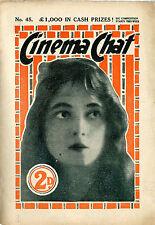 108 Vintage Movie Magazine 1910's-1950's (.pdf on DVD) Cinema Chat, Movie Weekly