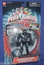 "Power Rangers Turbo 5"" PHANTOM RANGER Double Shifter Factory Sealed 1997 New"