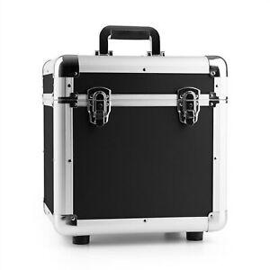 DJ Schallplattenkoffer Vinyl Case Schutz Koffer Aluminium Schaumstoff 100 LPs