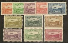 New Guinea 1939 Definitives SG212-222 MNH Cat£290