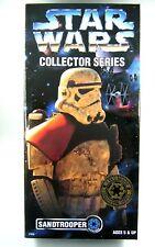 "Star Wars POTF2 12"" Inch Collectors Series Sandtrooper MIB"
