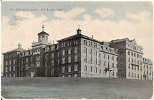 St. Benedict's Abbey in Mt. Angel OR Postcard 1909