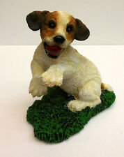 LIVING STONE JACK RUSSELL PUPPY, PLAYTIME,  ITEM #54085