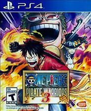 PS4 One Piece Pirate Warriors III 3 NEW Sealed Region Free USA Video game