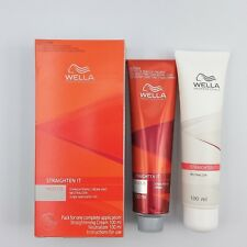 1 Wella Straighten It Permanent Straight System Hair Straightening Cream 100 ml.