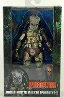 "NECA 7"" Predator Jungle Hunter Masked Prototype Action Figure 30th Anniversary"