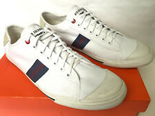 Ben Sherman Earl BN217102-01 White Canvas OX Lace-Up Sneakers Shoes Men's 12