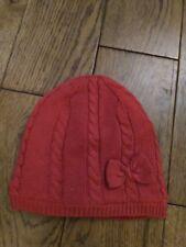 Lovely Little Girl Beanie Hat, M&Co, Red, 12-24 mths, BNWT