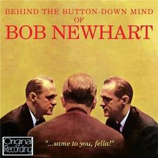 BOB NEWHART - BEHIND THE BUTTON-DOWN MIND (NEW CD) ORIGINAL RECORDING