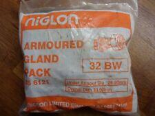 Armoured Cable Gland Packs  BW32 Niglon