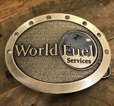 World Fuel Services Company Belt Buckle