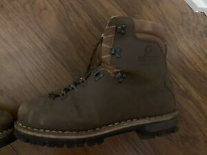 Alico Mountain Guide Hiking Boots, Mens, 10 M, Brown, Italy, Mountaineering