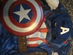 Captain America Costume And Shield