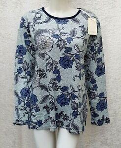 Neu - Damen Shirt - Gr. 46 - Langarmshirt Longsleeve Langarm Pullover - Mode