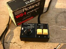 ✮ SUPERB !✮BOXED!✮ ROLAND WS-1 Write Switch for CR-78 Drum Machines✮VERY RARE