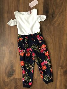 John Lewis Girls Shortie Jumpsuit BNWT Ages 2,3,4 And 5 Years available